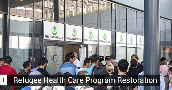 Refugee Health Care Program