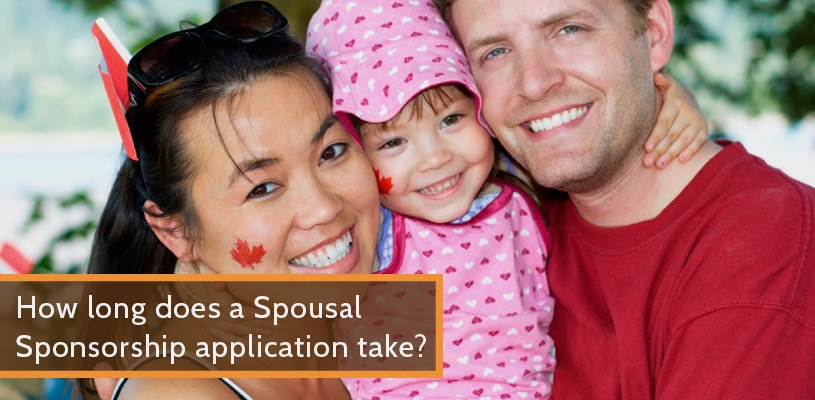 How long does a Spousal Sponsorship application take?