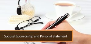 Spousal Sponsorship and Personal Statement