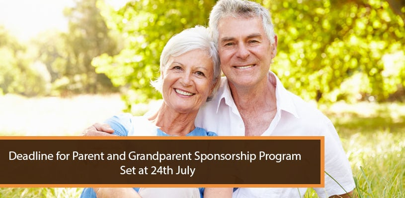 Deadline Parent and Grandparent Sponsorship Program