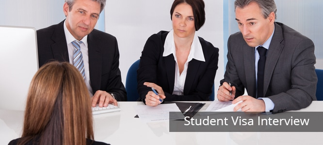 Student Visa Interview