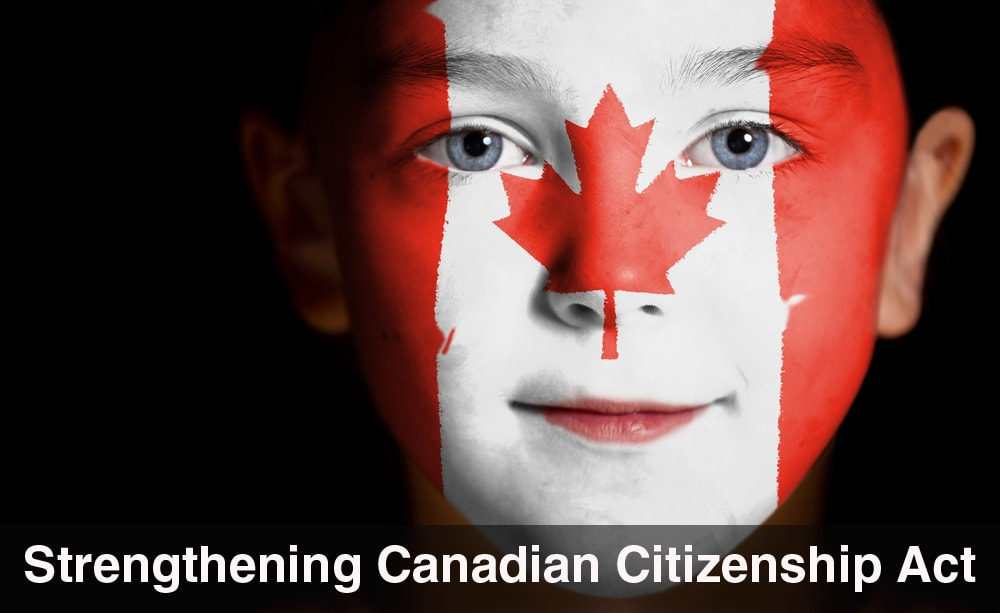 Strengthening Canadian Citizenship Act