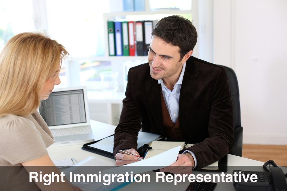 Right Immigration Representative