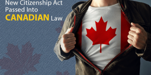 New Citizenship Act passed into law on June 19, 2014