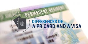 What's the Difference Between a PR Card and a Visa?