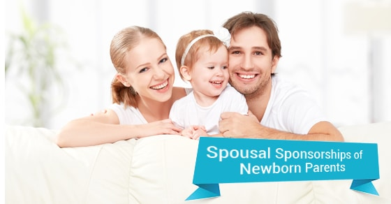 Sponsoring Your Spouse when you have a Newborn