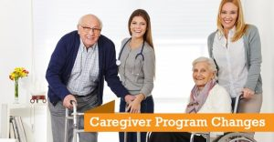 Caregiver Program Changes