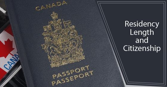 Residency Length And Canadian Citizenship