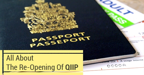 Quebec Investor Immigration program re-opens in August 2015