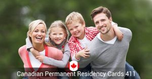 Canadian Permanent Residency Cards 411