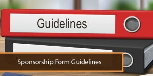 Sponsorship: Form Guidelines