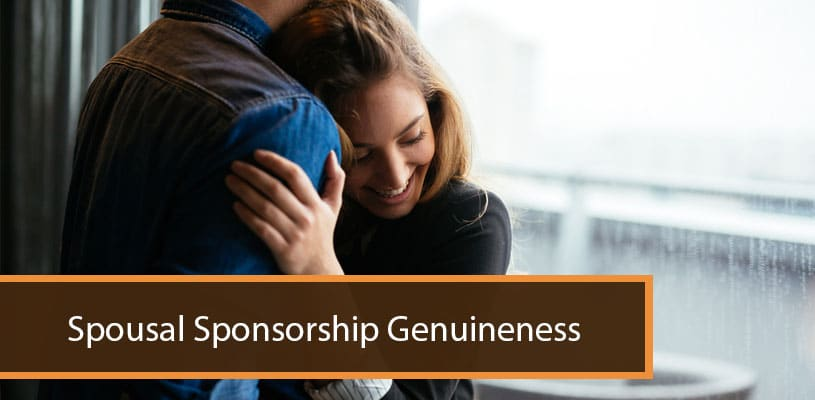 Spousal Sponsorship Genuineness