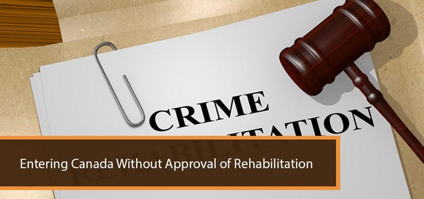 Canada Approval Rehabilitation