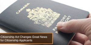 Citizenship Act Changes Great News for Citizenship Applicants