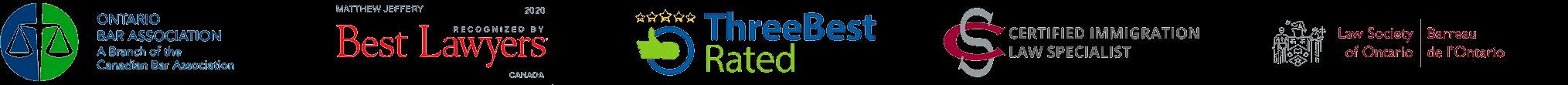 Matthew Jeffery Affiliation Logos
